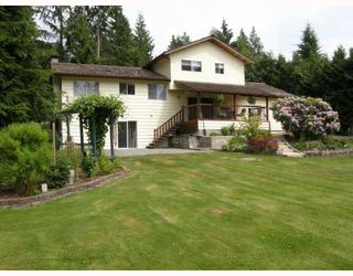 Photo 1: 11881 260TH Street in Maple_Ridge: Websters Corners House for sale (Maple Ridge)  : MLS®# V769709