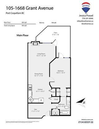 Photo 21: 105 1668 GRANT Avenue in Port Coquitlam: Glenwood PQ Condo for sale : MLS®# R2487243