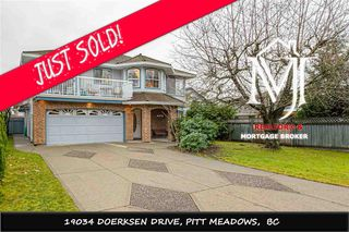 Photo 1: 19034 DOERKSEN DRIVE in Pitt Meadows: Central Meadows House for sale : MLS®# R2519317