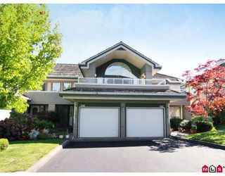 "Photo 1: 146 4001 OLD CLAYBURN Road in Abbotsford: Abbotsford East Townhouse for sale in ""CEDAR SPRINGS"" : MLS®# F2827073"