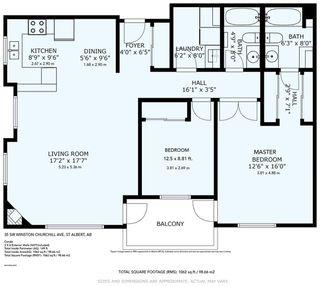 Photo 34: 202 35 SIR WINSTON CHURCHILL Avenue: St. Albert Condo for sale : MLS®# E4197001