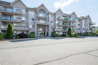 """Photo 1: 211 33728 KING Road in Abbotsford: Central Abbotsford Condo for sale in """"College Park Place"""" : MLS®# R2486380"""