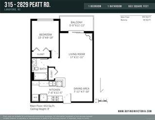 Photo 14: 315 2829 Peatt Rd in : La Langford Proper Condo Apartment for sale (Langford)  : MLS®# 855653
