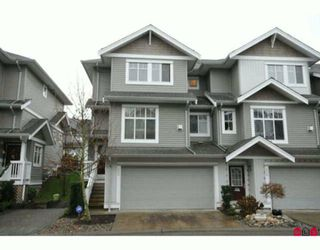 "Photo 1: 35 16760 61ST Avenue in Surrey: Cloverdale BC Townhouse for sale in ""Harvest Landing"" (Cloverdale)  : MLS®# F2927875"
