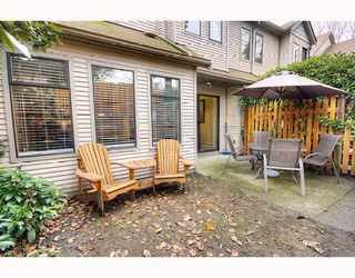 "Photo 37: 3 98 BEGIN Street in Coquitlam: Maillardville Townhouse for sale in ""LE PARC"" : MLS®# V807215"