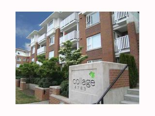 """Photo 1: 317 4783 DAWSON Street in Burnaby: Brentwood Park Condo for sale in """"COLLAGE"""" (Burnaby North)  : MLS®# V817295"""