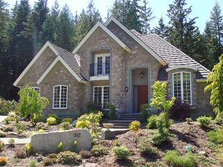 """Photo 1: 312 FORESTVIEW Lane: Anmore House for sale in """"CRYSTAL CREEK"""" (Port Moody)  : MLS®# V831692"""