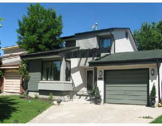 Photo 1: 170 ASHFORD Drive in WINNIPEG: St Vital Residential for sale (South East Winnipeg)  : MLS®# 2812328
