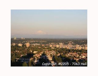 """Photo 9: 2205 7063 HALL Avenue in Burnaby: Highgate Condo for sale in """"EMERSON"""" (Burnaby South)  : MLS®# V776623"""