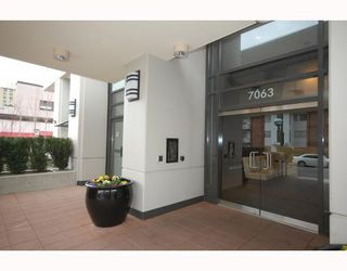 """Photo 7: 2205 7063 HALL Avenue in Burnaby: Highgate Condo for sale in """"EMERSON"""" (Burnaby South)  : MLS®# V776623"""