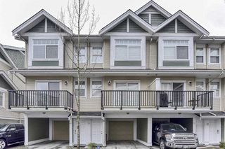 "Photo 1: 70 8676 158 Street in Surrey: Fleetwood Tynehead Townhouse for sale in ""SPRINGFIELD VILLAGE"" : MLS®# R2439365"