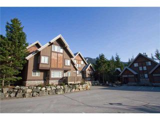 "Photo 1: 12 2640 WHISTLER Road in Whistler: Nordic Townhouse for sale in ""Rim Rock Village 2"" : MLS®# R2499143"