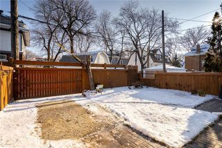 Photo 37: 179 Ethelbert Street in Winnipeg: Wolseley Residential for sale (5B)  : MLS®# 202028792