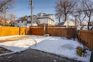 Photo 38: 179 Ethelbert Street in Winnipeg: Wolseley Residential for sale (5B)  : MLS®# 202028792