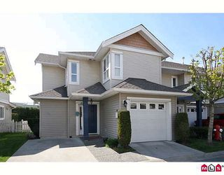 """Photo 1: 3 6513 200TH Street in Langley: Willoughby Heights Townhouse for sale in """"LOGANS CREEK"""" : MLS®# F2909386"""
