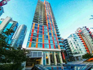 """Photo 1: 2703 1351 CONTINENTAL Street in Vancouver: Downtown VW Condo for sale in """"MADDOX"""" (Vancouver West)  : MLS®# R2393413"""