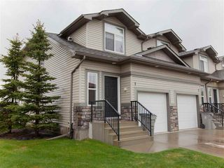 Main Photo: 1 9511 102 Avenue: Morinville Townhouse for sale : MLS®# E4198111