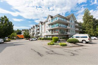 "Photo 1: 207 33708 KING Road in Abbotsford: Poplar Condo for sale in ""College Park"" : MLS®# R2481549"