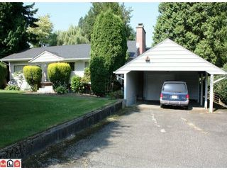 Photo 1: 2283 LOBBAN Road in Abbotsford: Central Abbotsford House for sale : MLS®# F1023752
