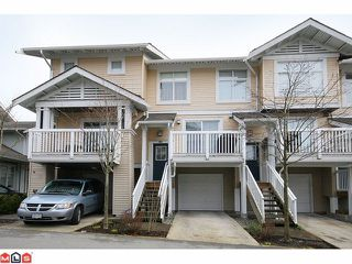 """Photo 1: 180 20033 70TH Avenue in Langley: Willoughby Heights Townhouse for sale in """"DENIM"""" : MLS®# F1102166"""