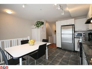 """Photo 5: 180 20033 70TH Avenue in Langley: Willoughby Heights Townhouse for sale in """"DENIM"""" : MLS®# F1102166"""