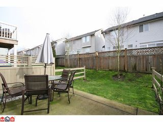 """Photo 10: 180 20033 70TH Avenue in Langley: Willoughby Heights Townhouse for sale in """"DENIM"""" : MLS®# F1102166"""