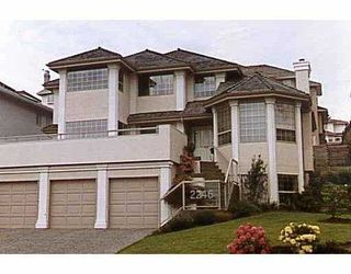 Photo 1: 2246 SICAMOUS Avenue in Coquitlam: Coquitlam East House for sale : MLS®# V756912