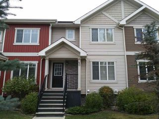 Photo 1: 7289 SOUTH TERWILLEGAR Drive in Edmonton: Zone 14 Townhouse for sale : MLS®# E4217701