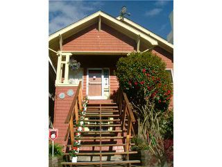 Photo 1: 1112 ROSE Street in Vancouver: Grandview VE House for sale (Vancouver East)  : MLS®# V835245