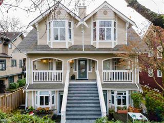 Photo 1: 2568 W 5TH Avenue in Vancouver: Kitsilano Townhouse for sale (Vancouver West)  : MLS®# R2521060