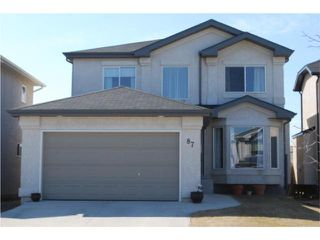Photo 1: 87 William Gibson Bay in WINNIPEG: Transcona Residential for sale (North East Winnipeg)  : MLS®# 1006181
