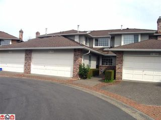 "Photo 1: 102 6094 W BOUNDARY Drive in Surrey: Panorama Ridge Townhouse for sale in ""LAKEWOOD ESTATES"" : MLS®# F1011034"