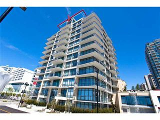 "Photo 1: 1104 162 VICTORY SHIP Way in North Vancouver: Lower Lonsdale Condo for sale in ""ATRIUM WEST AT THE PIER"" : MLS®# V857807"
