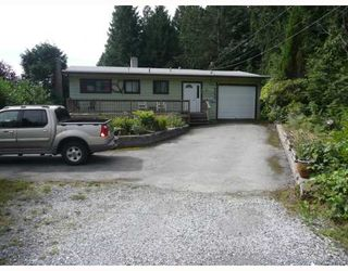 Photo 1: 6589 ACORN Road in Sechelt: Sechelt District House for sale (Sunshine Coast)  : MLS®# V781539