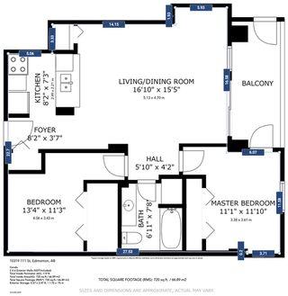 Photo 16: 907 10319 111 Street in Edmonton: Zone 12 Condo for sale : MLS®# E4211853