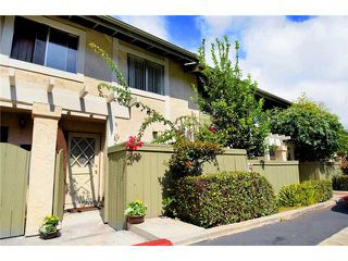 Photo 1: COLLEGE GROVE Townhome for sale : 2 bedrooms : 3912 60th #9 in San Diego