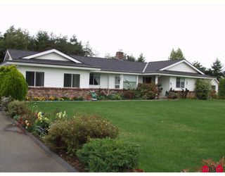 """Photo 1: 5943 252ND Street in Langley: Salmon River House for sale in """"STRAWBERRY HILLS"""" : MLS®# F2833173"""