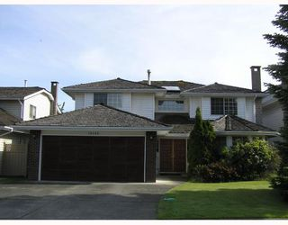 Main Photo: 10540 ATHABASCA Drive in Richmond: McNair House for sale : MLS®# V771050