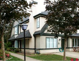 "Photo 1: 35 18883 65TH Avenue in Surrey: Cloverdale BC Townhouse for sale in ""APPLEWOOD"" (Cloverdale)  : MLS®# F2919511"