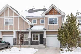 Main Photo: 85 Wentworth Common SW in Calgary: West Springs Semi Detached for sale : MLS®# A1056714