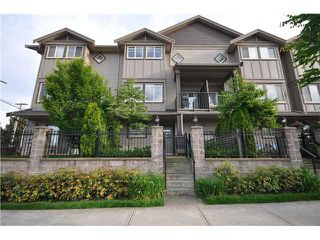 "Photo 1: 4 3139 SMITH Avenue in Burnaby: Central BN Townhouse for sale in ""BELLEVILLE HEIGHTS"" (Burnaby North)  : MLS®# V835997"