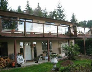 Photo 1: 1569 WHITE SAILS DR: Bowen Island House for sale : MLS®# V514830