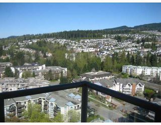 "Photo 1: 2105 1185 THE HIGH Street in Coquitlam: North Coquitlam Condo for sale in ""CLAREMONT"" : MLS®# V778704"