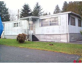 """Main Photo: 18 6571 KING GEORGE HY in Surrey: West Newton Manufactured Home for sale in """"Newton"""" : MLS®# F2522881"""