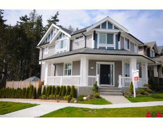 "Photo 1: 6007 164TH Street in Surrey: Cloverdale BC House for sale in ""VISTAS WEST"" (Cloverdale)  : MLS®# F2907435"