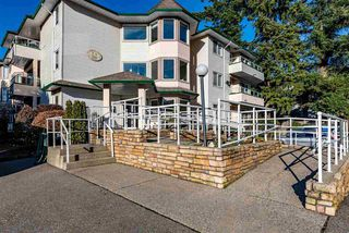 """Photo 1: 303 3063 IMMEL Street in Abbotsford: Central Abbotsford Condo for sale in """"Clayburn Ridge"""" : MLS®# R2421613"""