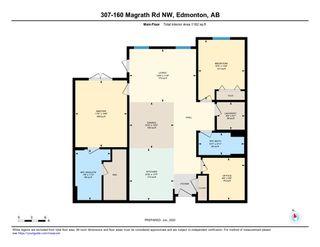 Photo 50: 307 160 Magrath Road in Edmonton: Zone 14 Condo for sale : MLS®# E4203477