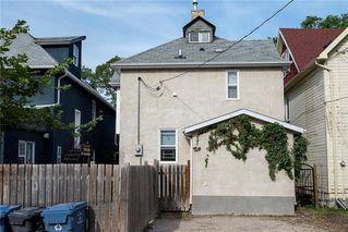 Photo 33: 255 Spence Street in Winnipeg: West Broadway Residential for sale (5A)  : MLS®# 202023427