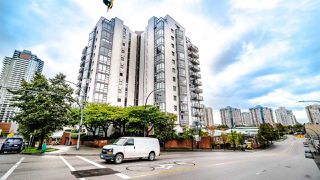 """Photo 1: 203 98 TENTH Street in New Westminster: Downtown NW Condo for sale in """"Plaza Pointe"""" : MLS®# R2507458"""