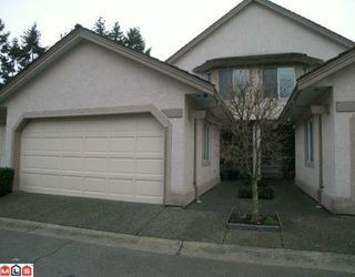 "Photo 1: 114 15988 83RD Avenue in Surrey: Fleetwood Tynehead Townhouse for sale in ""Glenridge Estates"" : MLS®# F1000288"